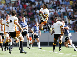 Hennie Daniller claims the high ball during the Festival of Rugby match between The Boland Cavaliers and The Stormers held at The Cape Town Stadium (formerly Green Point Stadium) in Cape Town, South Africa on 6 February 2010.  This is the first match/event to be held at the new stadium which was purpose built to host matches during the FIFA World Cup South Africa 2010.Photo by: Ron Gaunt/SPORTZPICS