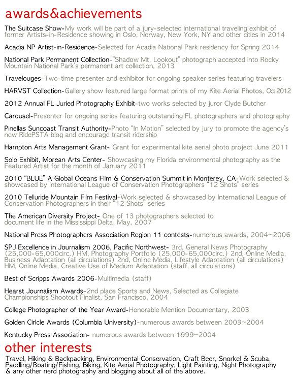 tampa bay photojournalist james branaman resume pg 2 branaman