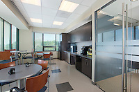 Interior Design image of Arlington VA offices of DRS Defense solutions by Jeffrey Sauers of Commercial Photographics