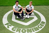 GRONINGEN - presentatie van de Zweed Emil Johansson en Kees Kwakman bij FC Groningen , seizoen 2011-2012, 24-06-2011,