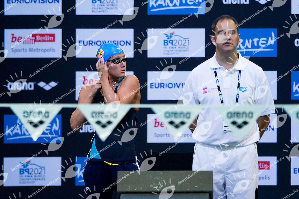 Mireia Belmonte Garcia Spain ESP<br /> 400 Medley Women Heat<br /> 32nd LEN European Championships <br /> Berlin, Germany 2014  Aug.13 th - Aug. 24 th<br /> Day06 - Aug. 18<br /> Photo A.Masini/Deepbluemedia/Inside