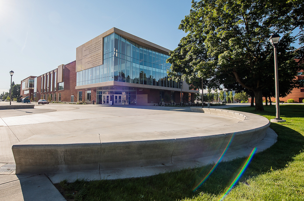 The John J. Hemmingson Center will open as students return to school this August. The facility offers over 167,000 square feet of contemporary space.<br />