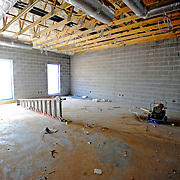 A classroom is seen under construction at the new Charles Henderson Middle School in Troy, Ala., Thursday, March 13, 2014. (Photo/Thomas Graning)