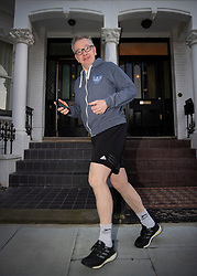 © Licensed to London News Pictures. 11/12/2018. London, UK. Environment Secretary Michael Gove goes for a run from his home before heading to Westminster. Prime Minister Theresa May is touring European countries today in a bid to obtain changes to the Brexit withdrawal agreement.  Photo credit: Peter Macdiarmid/LNP