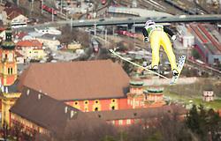 03.01.2013, Bergisel Schanze, Innsbruck, AUT, FIS Ski Sprung Weltcup, 61. Vierschanzentournee, Training, im Bild Michael Neumayer (GER) // Michael Neumayer of Germany during practice Jump of 61th Four Hills Tournament of FIS Ski Jumping World Cup at the Bergisel Schanze, Innsbruck, Austria on 2013/01/03. EXPA Pictures © 2012, PhotoCredit: EXPA/ Juergen Feichter