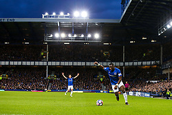 Yannick Bolasie of Everton under the lights at Goodison Park - Mandatory by-line: Robbie Stephenson/JMP - 23/04/2018 - FOOTBALL - Goodison Park - Liverpool, England - Everton v Newcastle United - Premier League