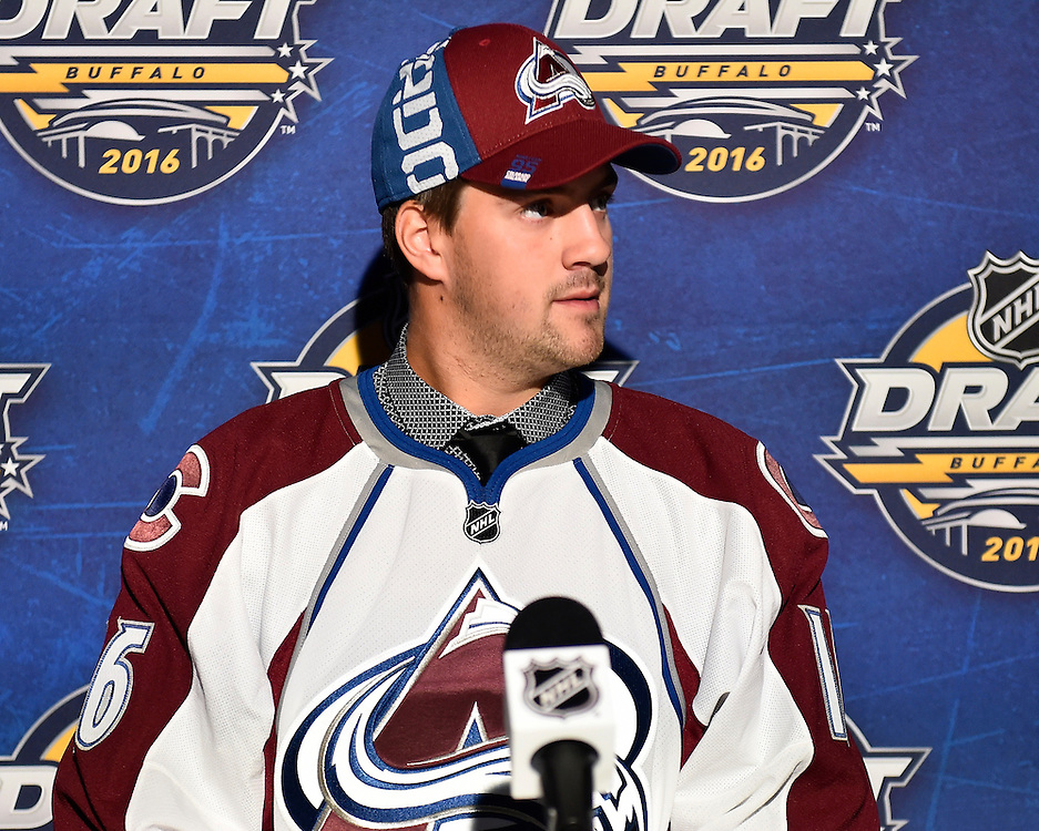 Josh Anderson of the Prince George Cougars was selected by the Colorado Avalanche at the 2016 NHL Draft in Buffalo, NY on Saturday June 25, 2016. Photo by Aaron Bell/CHL Images
