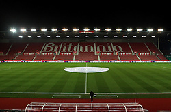 The Britannia Stadium, home of Stoke City - Mandatory byline: Robbie Stephenson/JMP - 13/01/2016 - FOOTBALL - Britannia Stadium - Stoke, England - Stoke City v Norwich City - Barclays Premier League