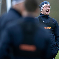 St Johnstone Training….23.11.18  McDiarmid Park, Perth<br />Danny Swanson pictured during training this morning ahead of tomorrow's game against Kilmarnock<br />Picture by Graeme Hart.<br />Copyright Perthshire Picture Agency<br />Tel: 01738 623350  Mobile: 07990 594431