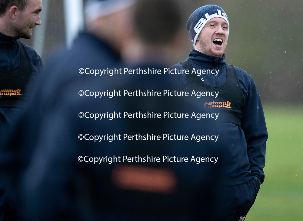 St Johnstone Training….23.11.18  McDiarmid Park, Perth<br />