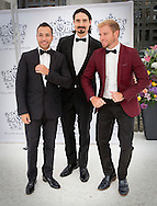 Stockholm , 16-06-2016<br /> <br /> King Carl Gustaf and Queen Silvia, Crown Princess Victoria and Prince Daniel and Prince Carl Philip and Princess Sofia attend the Polar Music Prize 2016 Ceremony<br /> <br /> Backstreet Boys : Howard Dorough, Brian Littrell, Kevin Richardson <br /> <br /> <br /> Backstreet Boys : Howard Dorough, Brian Littrell, Kevin Richardson <br /> <br /> <br /> COPYRIGHT:ROYALPORTRAITS EUROPE/BERNARD RUEBSAMEN
