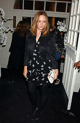 STELLA MCCARTNEY at a party to celebrate the Stella McCartney's unique collaboration with fashion store H&M at St.Olavs, Tooley Street, London SE1 on 25th October 2005.<br /><br />NON EXCLUSIVE - WORLD RIGHTS