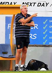 Hull City manager Steve Bruce points - Mandatory by-line: Matt McNulty/JMP - 19/07/2016 - FOOTBALL - One Call Stadium - Mansfield, England - Mansfield Town v Hull City - Pre-season friendly