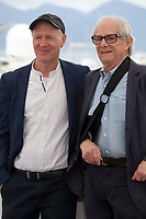 Screenwriter Paul Laverty and Director Ken Loach at Sorry We Missed You film photo call at the 72nd Cannes Film Festival, Friday 17th May 2019, Cannes, France. Photo credit: Doreen Kennedy