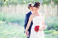 Un casament per l'esglesia diferent d'un nuvi holandes i una nuvia catalana. Casament a la natura a Bordils i convit a Sant Marti Vell, restaurant La Riera.