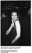 Andie Macdowell  at the Vanity Fair Oscar Night Party.  Mortons. Los Angeles.  24 March 1997<br />Copyright Photograph by Dafydd Jones<br />66 Stockwell Park Rd. London SW9 0DA<br />Tel 0171 733 0108