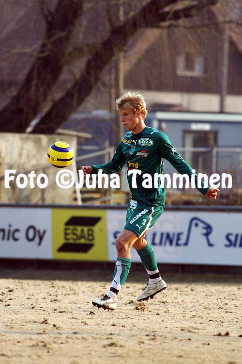 27.04.2006, Veritas Stadion, Turku, Finland..Veikkausliiga 2006 - Finnish League 2006.FC Inter Turku - Tampere United.Mathias Lindstr?m - TamU.©Juha Tamminen.....ARK:k