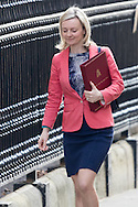 Environment Food and Rural Affairs Secretary Elizabeth Truss arrives for Cabinet at Downing Street, London<br /> Picture by Paul Davey/Focus Images Ltd +447966 016296<br /> 16/03/2016