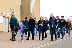 Bristol Rovers fans arrive at Coventry City - Mandatory by-line: Robbie Stephenson/JMP - 07/04/2019 - FOOTBALL - Ricoh Arena - Coventry, England - Coventry City v Bristol Rovers - Sky Bet League One