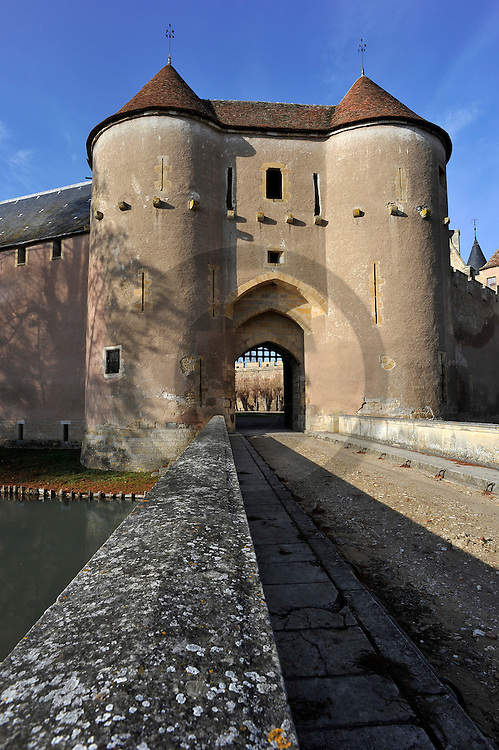 20/01/10 - AINAY LE VIEIL - CHER - FRANCE - Chateau d Ainay le vieil - Photo Jerome CHABANNE