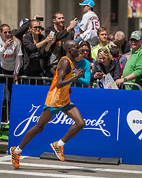 2014 Boston Marathon: runner up Wilson Chebet