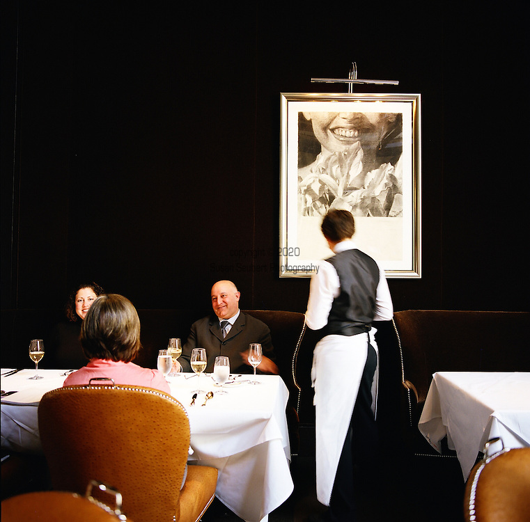 Spruce Restaurant, a bistro in Presidio Heights, purveyor of Classic California cuisine.