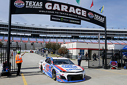 November 2, 2018 - Fort Worth, TX, U.S. - FORT WORTH, TX - NOVEMBER 02: Monster Energy NASCAR Cup Series driver AJ Allmendinger (47) drives through the garage area during practice for the AAA Texas 500 on November 02, 2018 at the Texas Motor Speedway in Fort Worth, Texas. (Photo by Matthew Pearce/Icon Sportswire) (Credit Image: © Matthew Pearce/Icon SMI via ZUMA Press)