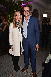 William Sitwell and Emily Lopes at the 2017 Fortnum & Mason Food & Drink Awards held at Fortnum & Mason, Piccadilly London England. 11 May 2017.<br /> Photo by Dominic O'Neill/SilverHub 0203 174 1069 sales@silverhubmedia.com