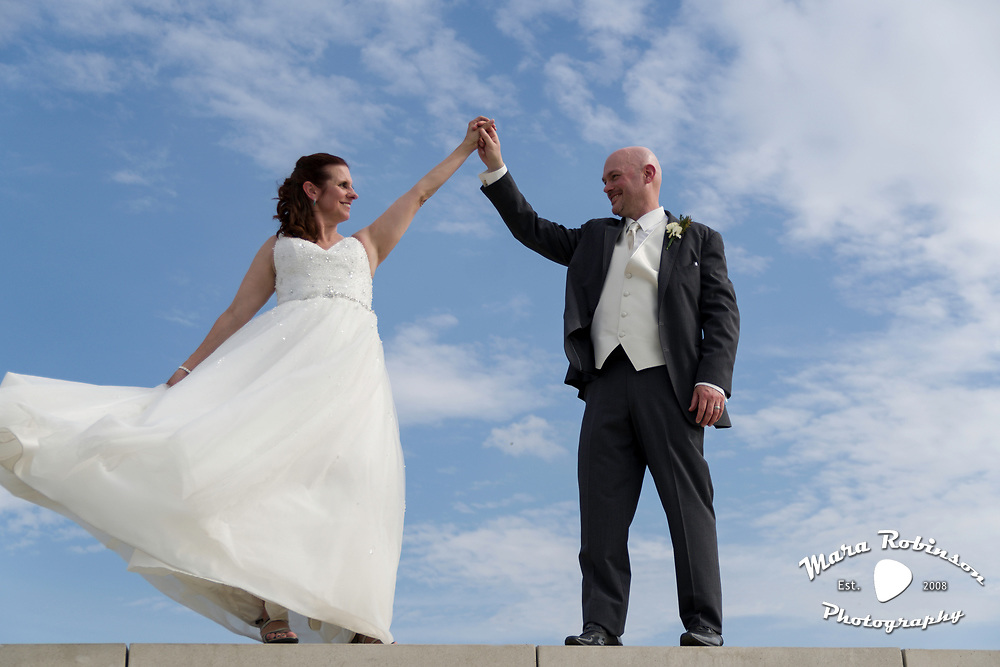 Cleveland wedding photographer Mara Robinson