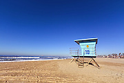 Lifeguard Tower in Huntington Beach