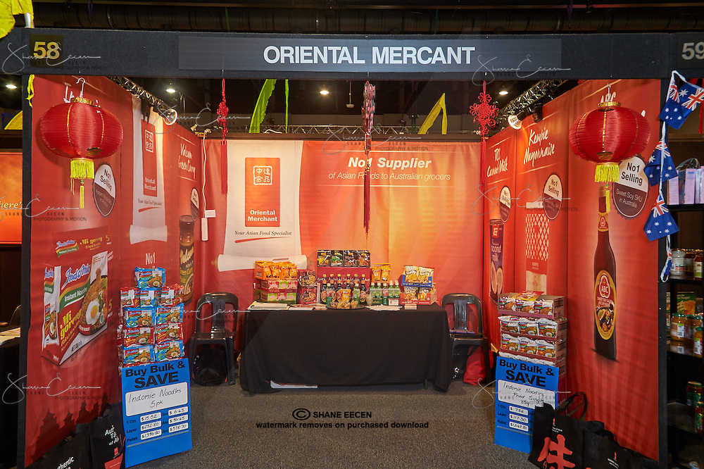IG Festival of Food 2015. Darwin Convention Centre. 2-3 May 2015. Booth and products of Oriental Mercant Pty Ltd. Photo by Shane Eecen/Creative Light Studios Darwin.