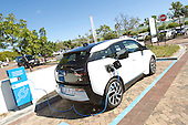 BMW i3 charging at Constantia Village