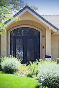 Beautiful Scroll Wrought Iron Door and Front Entry Way