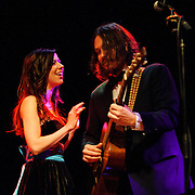 VIENNA, VA - February 12th, 2011: The Civil Wars (Joy Williams and John Paul White) perform at Jammin' Java. The duo's debut album, Barton Hollow, was released on February 1st and debuted at #1 on the iTunes Music Chart and #12 on the US Billboard 200.  (Photo by Kyle Gustafson/For The Washington Post)