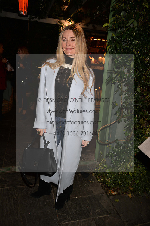 Donna Ida at The Ivy Chelsea Garden's Guy Fawkes Party, 197 King's Road, London, England. 05 November 2017.