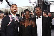 Michael B. Jordan, Lupita Nyong'o, and Isaach de Bankolé