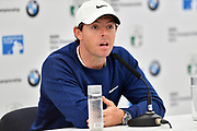 Golfer Rory McIlroy during the BMW PGA Championship at Wentworth Club, Virginia Water, United Kingdom on 18 September 2019.