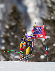 19.01.2013, Olympia delle Tofane, Cortina d Ampezzo, ITA, FIS Weltcup Ski Alpin, Abfahrt, Damen, im Bild Larisa Yurkiw (CAN) // Larisa Yurkiw of Canada in action during the ladies Downhill of the FIS Ski Alpine World Cup at the Olympia delle Tofane course, Cortina d Ampezzo, Italy on 2013/01/19. EXPA Pictures © 2013, PhotoCredit: EXPA/ Johann Groder