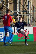 Dundee v Fife Elite in the SPFL Under 18 League at Station Park, Forfar