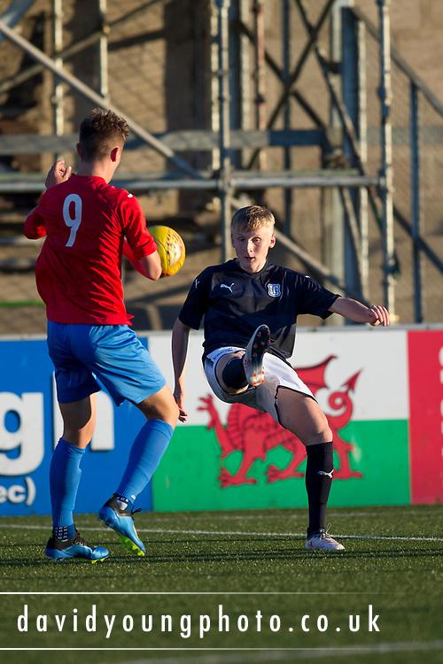 Dundee v Fife Elite in the SPFL Under 18 League at Station Park, Forfar