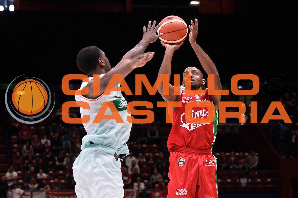 Hickman Richard<br /> EA7 Emporio Armani Olimpia Milano - Sidigas Avellino<br /> LegaBasket 2016/2017<br /> Milano 09/10/2016<br /> Foto Ciamillo-Castoria