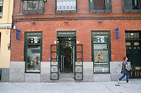 8 ½ Film and Art Bookshop in Madrid Spain