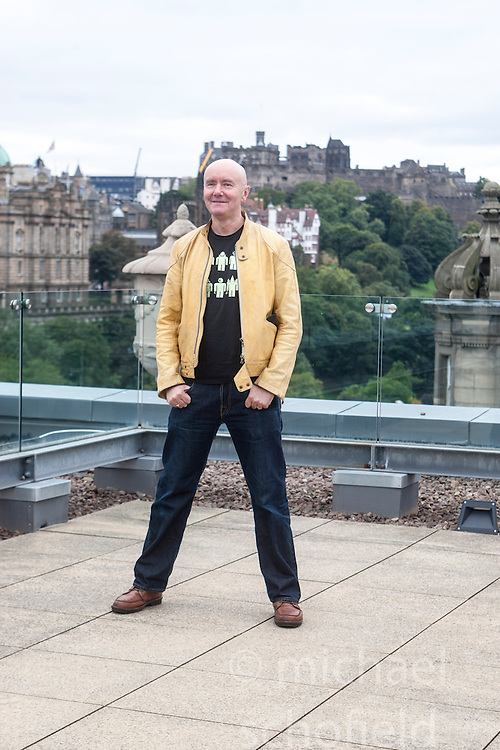 Filth photocall with Irvine Welsh.<br /> &copy;Michael Schofield.