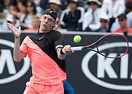 DENIS SHAPOVALOV (CAN)<br /> <br /> Tennis - Australian Open 2018 - Grand Slam / ATP / WTA -  Melbourne  Park - Melbourne - Victoria - Australia  - 15 January 2018.