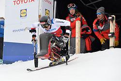LOESCH Claudia LW11 AUT at 2018 World Para Alpine Skiing Cup, Kranjska Gora, Slovenia