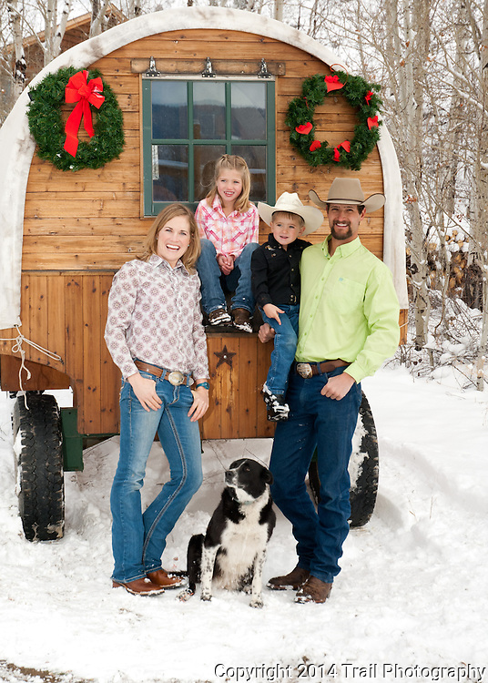 The wonderful Fosha family that runs and owns Drowsy Water Ranch in Granby, CO