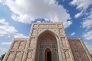 Uzbekistan, Samarqand. Ulugbek's Observatory. The museum.