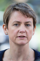 © Licensed to London News Pictures . 21/09/2014 . Manchester , UK . Shadow Home Secretary YVETTE COOPER in Manchester today (Sunday 21st September 2014) . 2014 Labour Party Conference . Photo credit : Joel Goodman/LNP