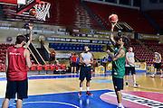 DESCRIZIONE : Tbilisi City Hall Cup - Allenamento<br /> GIOCATORE : Daniel Hackett<br /> CATEGORIA : nazionale maschile senior A <br /> GARA : Tbilisi City Hall Cup - Allenamento <br /> DATA : 13/08/2015<br /> AUTORE : Agenzia Ciamillo-Castoria