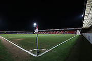 Whaddon Road during the Sky Bet League 2 match between Cheltenham Town and Morecambe at Whaddon Road, Cheltenham, England on 16 January 2015. Photo by Shane Healey.